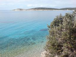 Croatia beaches - Island Cres -  beach in Martinscica