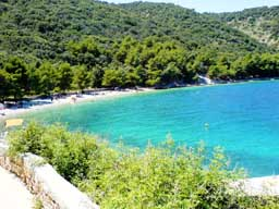 Croatia beaches - Valun (Raca) island Cres