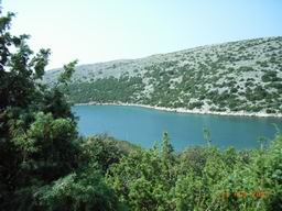 Island Cres - bay of Ustrine (hike from Stivan)