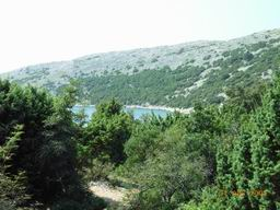 Island Cres walk - from Gradiska ruins to Porat (bay of Ustrine mouth)